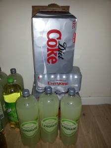 Lemonade and Coke