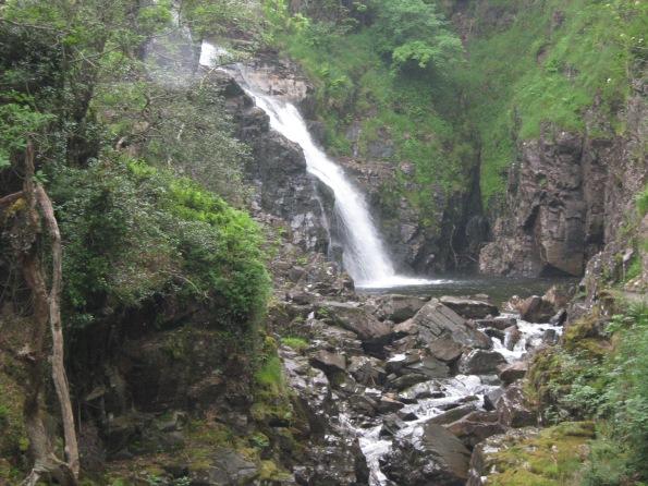 Waterfall in Wales