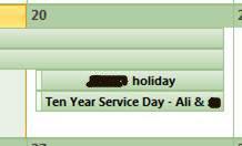 10 yr service