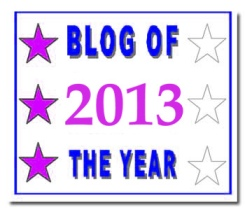 Blog of the Year Award 3 star