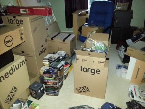 Messy Bedroom Move