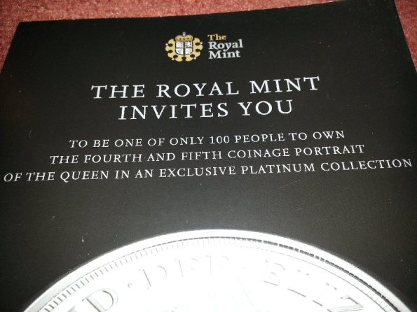 Royal Mint Offer