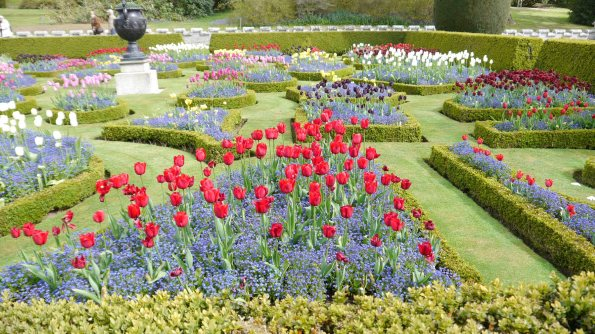 Lanhydrock Flower Beds